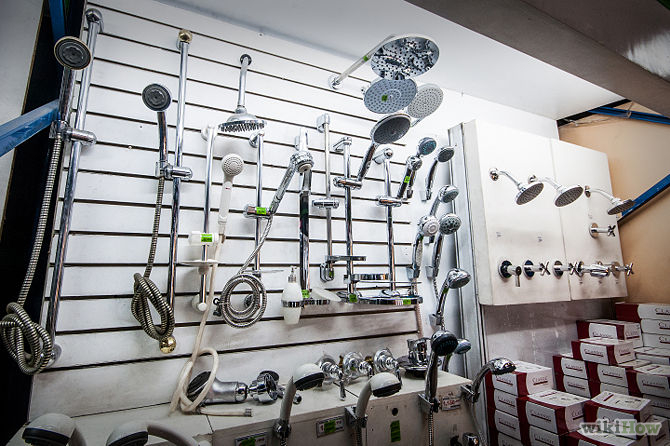 What is important when choosing a shower head?