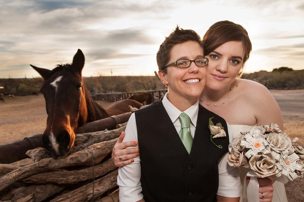 Wedding on a Ranch